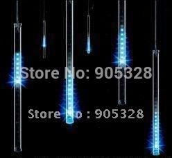 Free ship Holiday HOT buyer Recommend 240leds LED christmas light decoration rope LED Snow fall tube raining meteor tube lamp(China (Mainland))