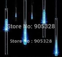 Free ship Holiday HOT buyer Recommend 240leds LED christmas light decoration rope LED Snow fall tube raining meteor tube lamp