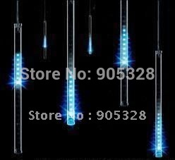 Holiday sale 8pcs a set 240leds LED christmas light decoration LED Snow fall tube led raining led meteor tube led rope lamp(China (Mainland))