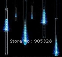 Holiday sale 8pcs a set 240leds LED christmas light decoration LED Snow fall tube led raining led meteor tube led rope lamp