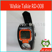 New 2pcs/set Watch Model Walkie Talkie RD-008  interphone two way Watch Radio, Free Shipping!