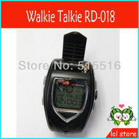 New 2pcs/set Watch Model Walkie Talkie RD-018  interphone two way Watch Radio with Adjustable Watch band, Free Shipping!