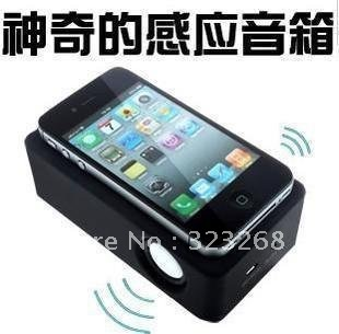 Portable the induction speakers / do not need line connection or settings / sound amplifier / cell phone sound amplification(China (Mainland))