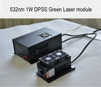 Free shipping for 532nm 1000mw 1W 2W 3W 5W DPSS Green Laser module With TTL modulation and analogue modulation for choose