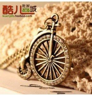 N167 Europe and the United States with retro bicycle chain necklace Woman Luxurious Paragraph fashion !#199(China (Mainland))