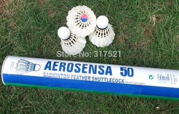 goose badminton shuttlecock AS-50 12 dozens/lot(12 pieces per dozen) accept Credit card free shipping