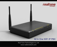Wireless IP  PBX support 16 SIP clients, 802.11n router inside, 1 WAN and 2 LAN ports, 2 USB support 3G dongle