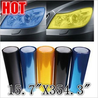"Vinyl Film 15.7"" x 48"" Auto Car Smoke Fog Light Headlight Taillight Sheet Sticker"