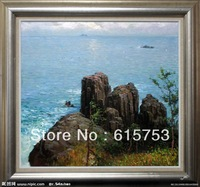 Hand painted landscape oil painting0007