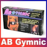AB Gymnic Electronic Muscle Arm leg Waist Health Body Health care beauty massage Body building Belt Slimming Belt Free Shipping