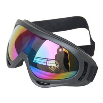 In stock X400 ski glasses&cycling goggles, PC, 100%UVA/UVB protection, ANSI Z87.1 strandard,Colorful