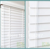 Free Shipping European Effort High Profile Basswood Real Wood Blinds curtain blinds