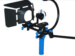 wholesale NEW DSLR Rig Hand & Shoulder Rig RL-00 +follow focus+matte box+ c frame(China (Mainland))