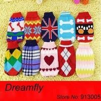 Wholesale 10pcs/lot pet clothing dog sweater P0067
