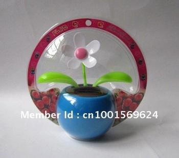Free shipping (20pcs/lot) solar flip flap solar dancing flower solar swing flower