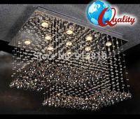 HI-QUALITY FREE SHIPPING & LED BULB 110-240V CAMERA DESIGN K9 CRYSTAL CHANDELIER L800*W600*H500mm RESTAURANT PARLOR HOTEL VILLA