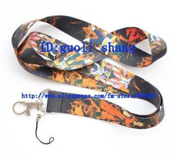 Free shipping 10pcs Dragon Ball  Phone Strap NECK Hook Lanyard Charm Key Chain