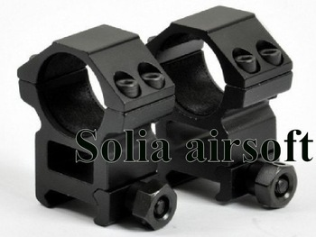High Profile 1 inch Scope Rings for Weaver 20mm rail(RGWM-25H4)