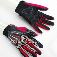 Free shipping 1 pair MONSTER full finger anti slip motorcycle glove outdoor riding bike glove 4 colors available