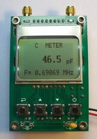 Free shipping,Frequency Counter Micro Power Tester Capacitance Inductance Meter Cymometer