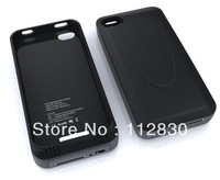 For iphone 4 4s external battery case 2000mah black white pink purple,Retail package+Singapore post free shipping