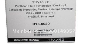 Free shipping 100% original new print head for Canon S900/ S9000/i9100/ BJ F9000/F900/ F930/PIXUS9100I/QY6-0039/ on sale