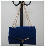 trendy bag,material:velvet,Size:30 x 18cm,7 different colors,two function,promation for X'max, Free shipping