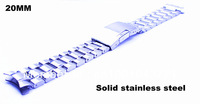 Retail-1PCS  High quality 20MM Solid Stainless Steel Watch band Watch strap - free shipping -803021