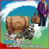 New DSLR SLR Camera Canvas shoulder bag BBK-4 for Sony Canon Nikon Olympus Backpacker BBK4
