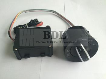 New Version VW Auto Headlight Light Sensor Switch For Golf MK4 4 IV Jetta MK4 MK6 VI Bora Polo Passat B5 With Instruction
