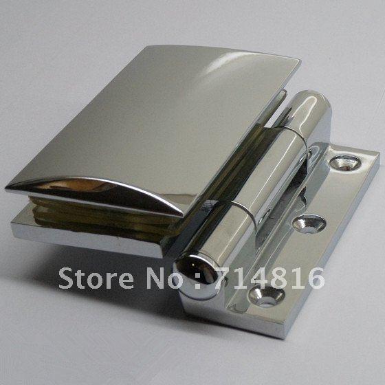 wall mounting shower door hinge,,brass hinge,shower hinge(China (Mainland))