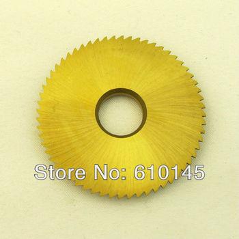 titanizing coarse tooth key blade for horizatol key cutting machine