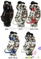 2013 High quality golf PU bags,dragon ball bag .corrosion resistence strong. japan cart ball bag.free shipping golf bag