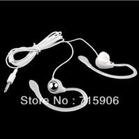 Free Shipping 3.5mm Ear Hook Earphone Headphone Headset for MP3 MP4 PC PDA