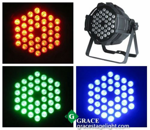 free shipping christmas promotional lights led par can 36*3w rgb (3in1)(China (Mainland))