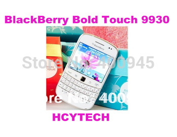 (White Color) Original Unlocked Blackberry Bold 9930 Wi-Fi GPS 5.0MP QWERTY PIN+IMEI number 3G phone Free shipping