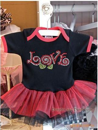 MAGIC CUBE girls baby Summer bright drill romper tutu jumpsuits(China (Mainland))