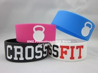 New CROSS FIT,CrossFit Wristband,Geat Fitness Apparel Workout Clothing,50pcs/lot,silicon bracelet,4 colors 50pcs/lot