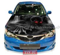 free shipping High Definition DIY Customized car hood stickers 150cm*120cm
