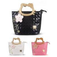 2013 New arrive Hello kitty handbag high quality PU leather tote bags cartoon bag Women's girls fashion handbags, free shipping