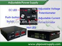 0-120VDC 0-25ADC Adjustable DC Power Supply (YK-AD12025)