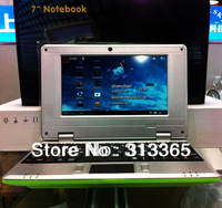 7 Inch Netbook VIA8850 Android 4.0 WiFi, Web Camera, 512MB RAM 4GB ROM free shipping