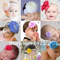 Free shipping hot sale fashion flower headband  baby hairband baby girls hair accessories children headwear 10pcs/lot