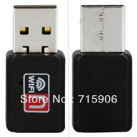 USB 150Mbps 802.11n/g/b Mini WiFi Wireless Card Adapter for WIN XP VISTA 7