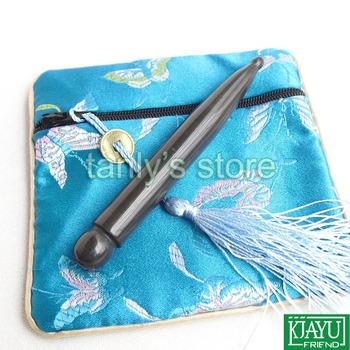 free shipping! 5A Original Si Bin Bian Stone beauty face massage guasha dianxue pen 115x13mm
