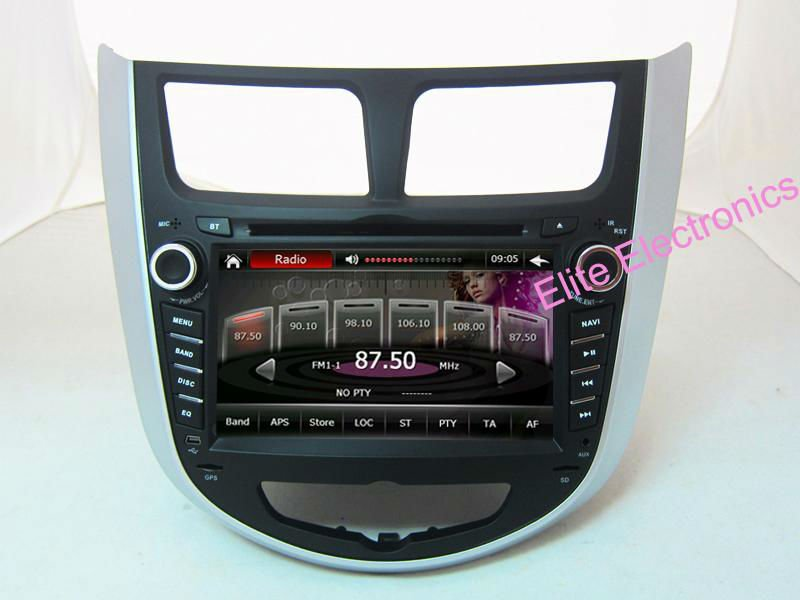 Car dvd radio for hyundai verna gps with russian language menu DVD Player,Bluetooth,Built-in GPS,CD Player + ATV(China (Mainland))