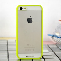 rainbow silicon bumper  for iphone 5