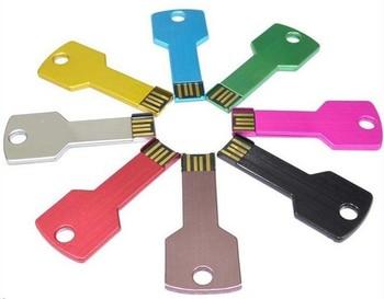 Free EMS/DHL/Fedex gift water proof  mini key shape usb flash drive1GB2GB 4GB 8GB 16GB Custom logo usb pendrive (color optional)