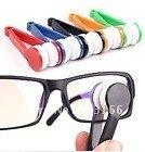 Mini Sun Glasses Eyeglass Microfiber Brush Cleaner New