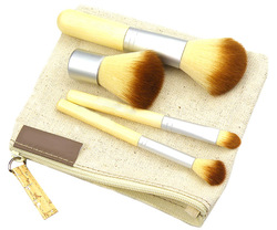 HB702 EE Convenient Bamboo 5 piece brush set travel size Free shipping wholesale drop shipping(China (Mainland))